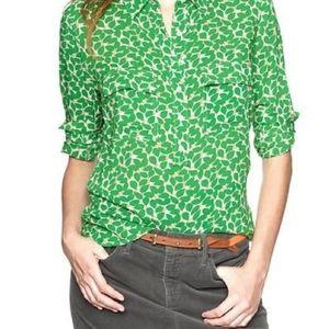 Gap Fitted Boyfriend Shirt